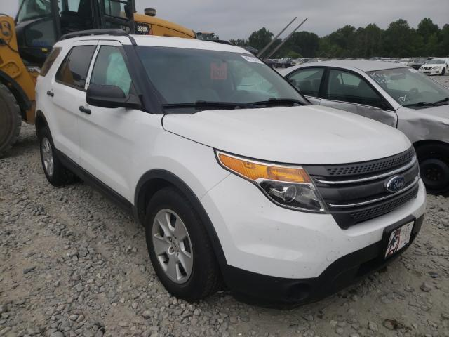 Ford Explorer salvage cars for sale: 2013 Ford Explorer