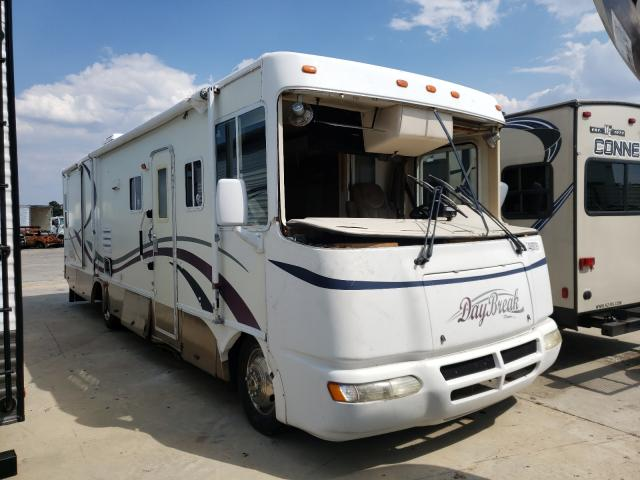 Workhorse Custom Chassis salvage cars for sale: 2001 Workhorse Custom Chassis Motorhome