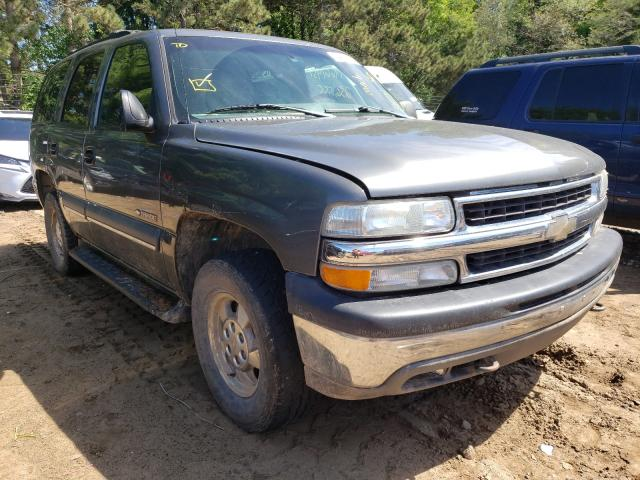 Chevrolet Tahoe salvage cars for sale: 2002 Chevrolet Tahoe