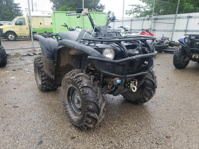 Salvage motorcycles for sale at Moraine, OH auction: 2013 Yamaha YFM700 FWA