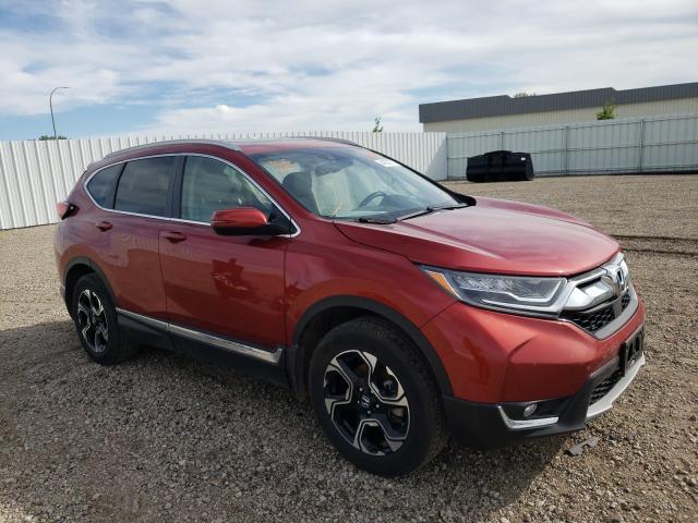 Vehiculos salvage en venta de Copart Bismarck, ND: 2019 Honda CR-V Touring