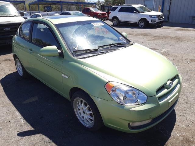Salvage cars for sale from Copart Las Vegas, NV: 2008 Hyundai Accent SE