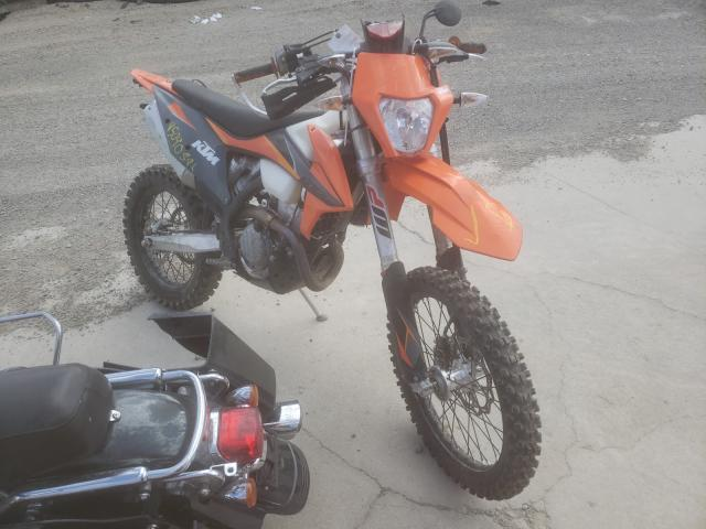 Salvage motorcycles for sale at Reno, NV auction: 2021 KTM 350 EXC-F