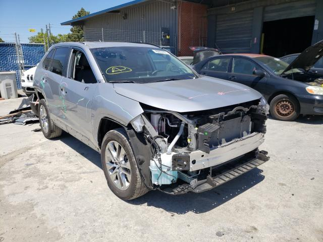 Salvage cars for sale from Copart Hayward, CA: 2020 Toyota Rav4 XLE P