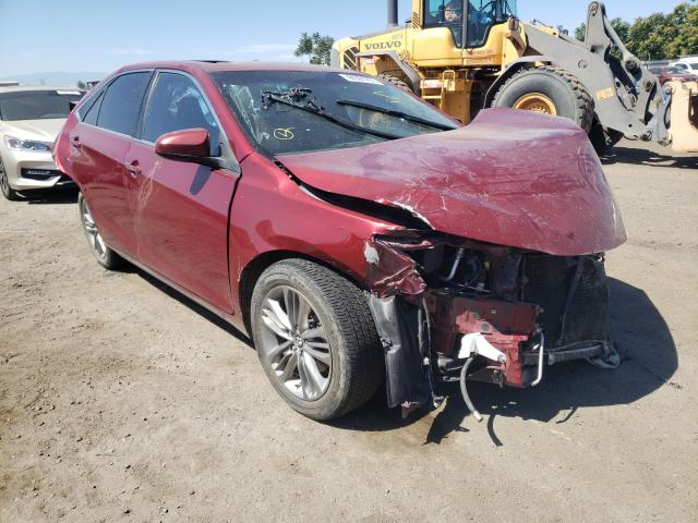 Salvage cars for sale from Copart Bakersfield, CA: 2017 Toyota Camry LE
