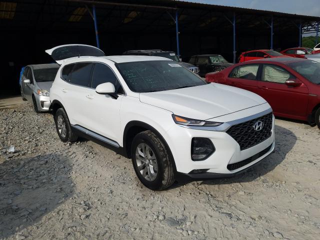 Salvage cars for sale from Copart Cartersville, GA: 2020 Hyundai Santa FE S