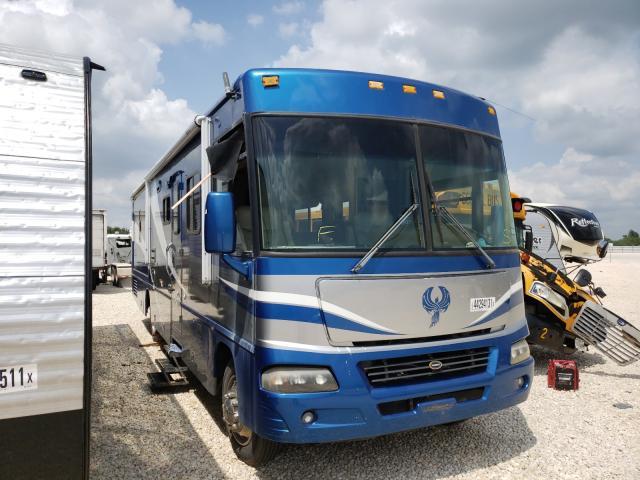 Salvage trucks for sale at San Antonio, TX auction: 2003 Winnebago Adventurer