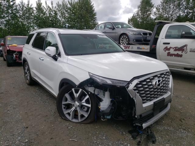 Salvage cars for sale from Copart Arlington, WA: 2021 Hyundai Palisade S