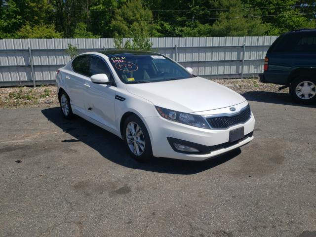 Salvage cars for sale from Copart Exeter, RI: 2013 KIA Optima EX