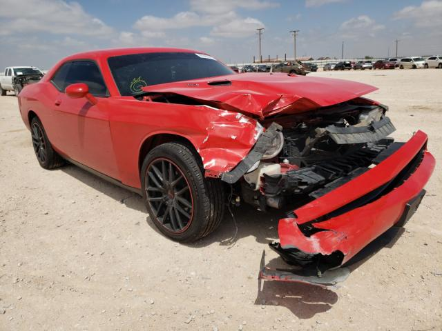 Salvage cars for sale from Copart Andrews, TX: 2014 Dodge Challenger