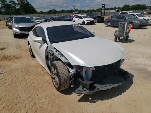 Salvage cars for sale from Copart Newton, AL: 2016 Lexus RC 200T