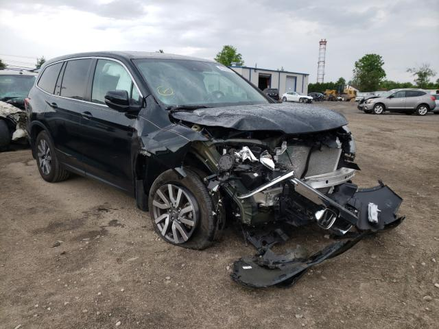 Salvage cars for sale from Copart Finksburg, MD: 2019 Honda Pilot EXL