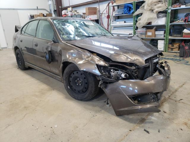 Salvage cars for sale from Copart Nisku, AB: 2008 Subaru Legacy 2.5