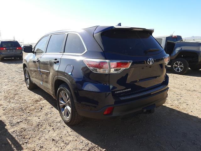 2015 Toyota Highlander 3.5L, VIN: 5TDKKRFH6FS094928, аукцион: COPART, номер лота: 44902171