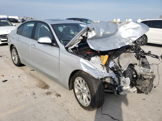 Salvage cars for sale from Copart New Orleans, LA: 2016 BMW 320 I
