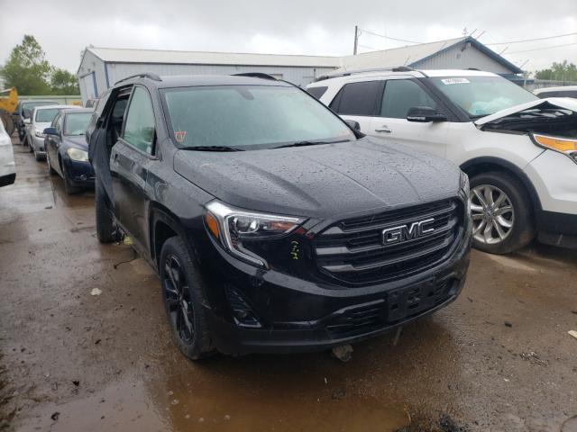 Salvage cars for sale from Copart Pekin, IL: 2019 GMC Terrain SL