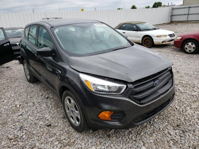 Salvage cars for sale from Copart Lawrenceburg, KY: 2017 Ford Escape S