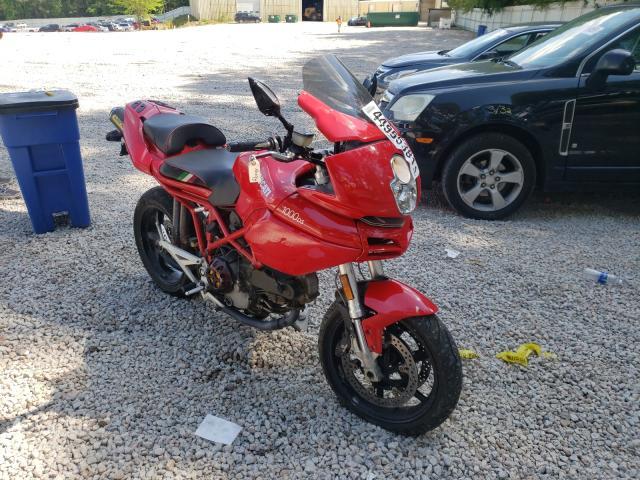 Ducati salvage cars for sale: 2004 Ducati Multistrad