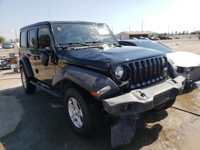 Salvage cars for sale from Copart Riverview, FL: 2019 Jeep Wrangler U