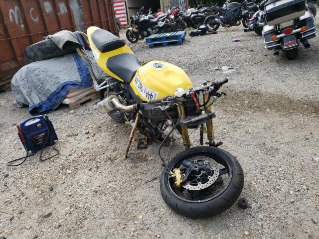 Salvage motorcycles for sale at Baltimore, MD auction: 2004 Suzuki GSX-R600 K