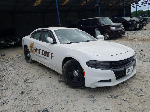 Salvage cars for sale from Copart Cartersville, GA: 2018 Dodge Charger PO