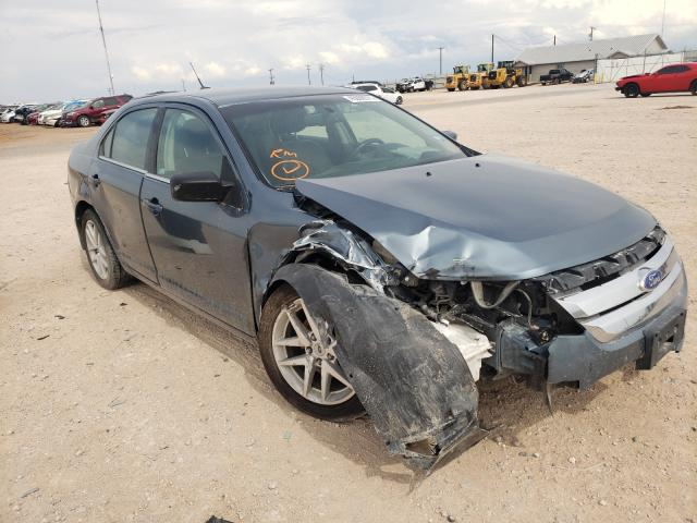 Salvage cars for sale from Copart Andrews, TX: 2011 Ford Fusion SEL