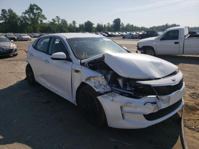 KIA Vehiculos salvage en venta: 2018 KIA Optima LX