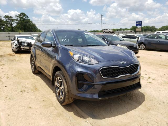 Salvage cars for sale from Copart Newton, AL: 2021 KIA Sportage L