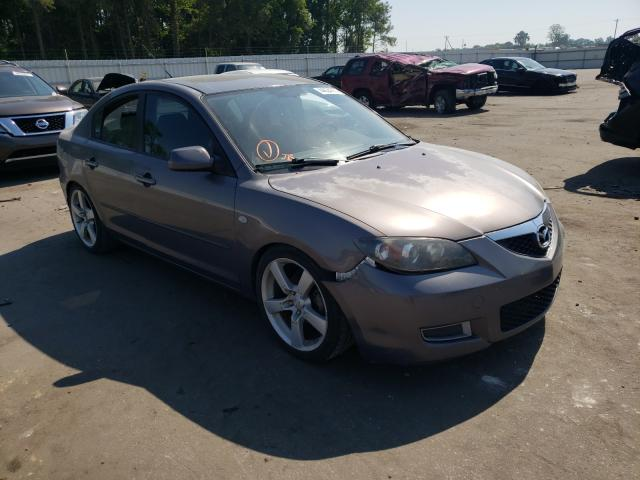 Salvage cars for sale from Copart Dunn, NC: 2008 Mazda 3 I
