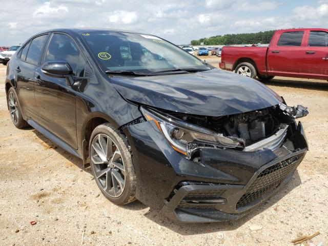 Salvage cars for sale from Copart Longview, TX: 2021 Toyota Corolla SE