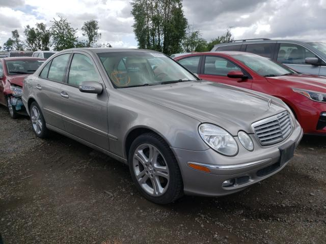 Salvage cars for sale from Copart Woodburn, OR: 2006 Mercedes-Benz E 350 4matic
