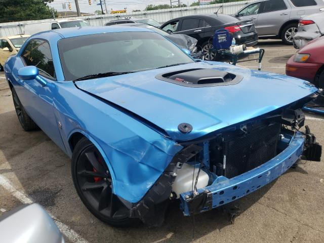 Dodge Challenger salvage cars for sale: 2019 Dodge Challenger