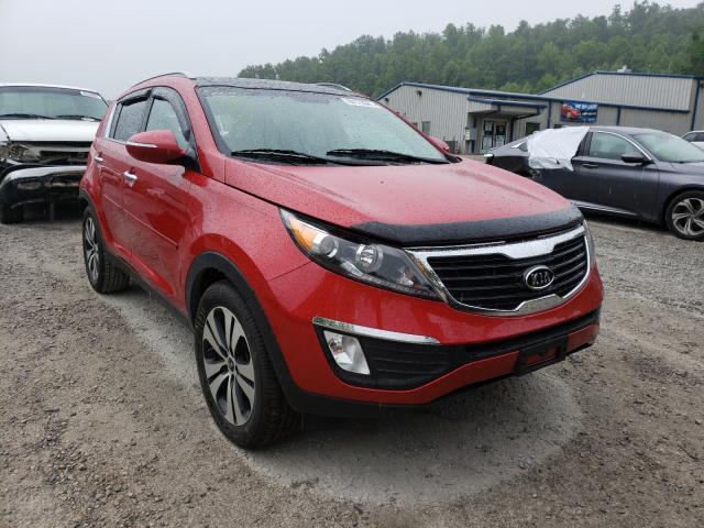 KIA salvage cars for sale: 2012 KIA Sportage E