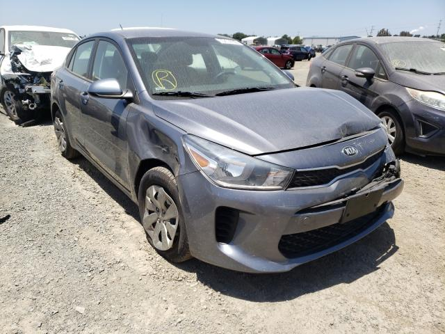 Salvage cars for sale from Copart San Diego, CA: 2019 KIA Rio S
