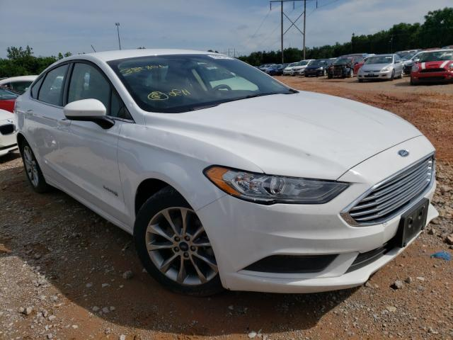 Salvage 2017 FORD FUSION - Small image. Lot 42841191