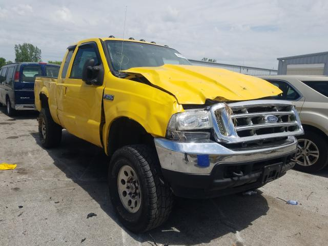 Salvage cars for sale from Copart Dyer, IN: 2004 Ford F250 Super