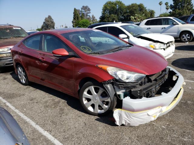 Vehiculos salvage en venta de Copart Van Nuys, CA: 2013 Hyundai Elantra GL