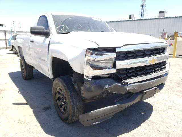 Salvage cars for sale from Copart Fresno, CA: 2016 Chevrolet Silverado
