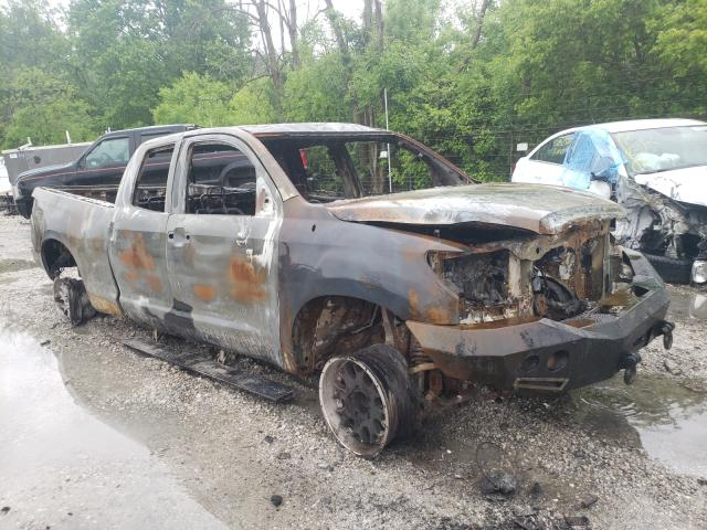 Salvage cars for sale from Copart Northfield, OH: 2013 Toyota Tundra DOU