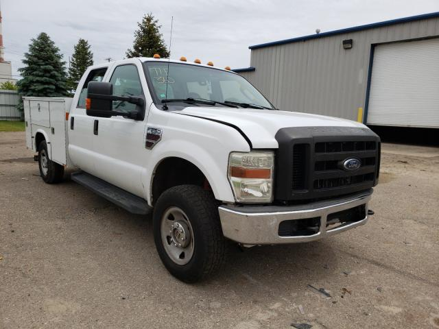 Salvage cars for sale from Copart Lansing, MI: 2009 Ford F250 Super