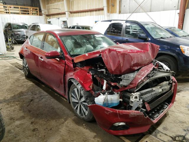 Salvage cars for sale from Copart Anchorage, AK: 2019 Nissan Altima SV