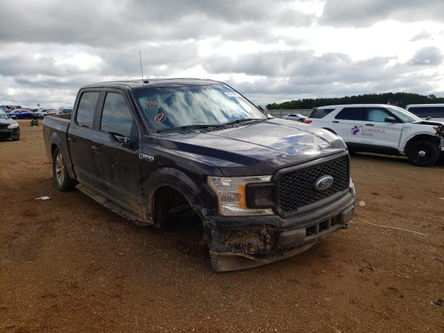Salvage cars for sale from Copart Longview, TX: 2018 Ford F150 Super