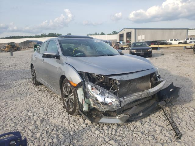 Salvage cars for sale from Copart Hueytown, AL: 2017 Honda Civic EXL