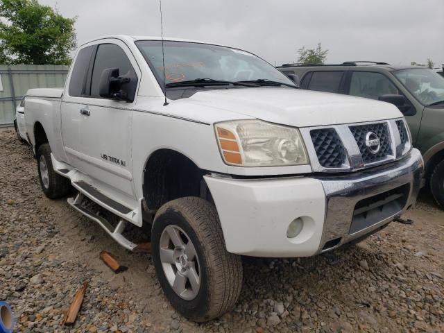 Nissan Vehiculos salvage en venta: 2007 Nissan Titan XE