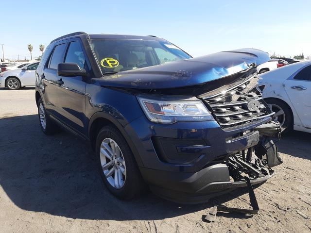 Vehiculos salvage en venta de Copart Fresno, CA: 2017 Ford Explorer