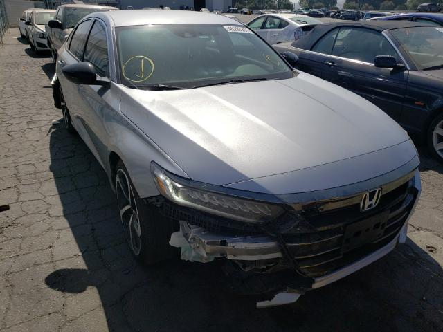 Salvage cars for sale from Copart Colton, CA: 2021 Honda Accord Sport