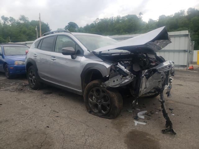 Salvage cars for sale from Copart West Mifflin, PA: 2021 Subaru Crosstrek