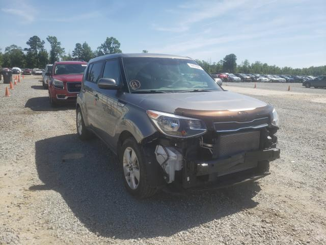 Salvage cars for sale from Copart Lumberton, NC: 2018 KIA Soul
