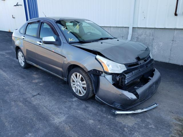 Salvage cars for sale at Moncton, NB auction: 2011 Ford Focus SEL