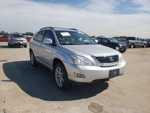 Salvage cars for sale from Copart Wilmer, TX: 2009 Lexus RX 350
